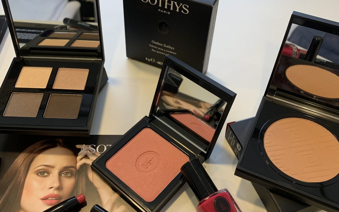 Sothys Summer Chill make-up look